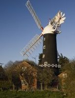 Skidby Mill. The last working windmill in Yorkshire.